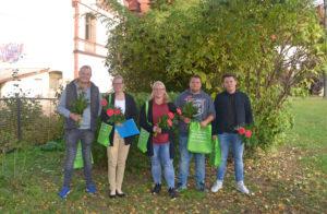 Erfolgreiche Absolventen aus dem Bereich Gartenbau