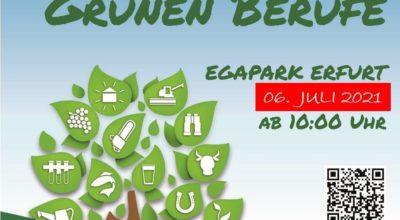 BUGA 2021 - wir sind dabei zum Tag der Grünen Berufe in Erfurt!